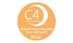 C4 Online Education - Dermatology/Wound/Scar Specialist - PCCA